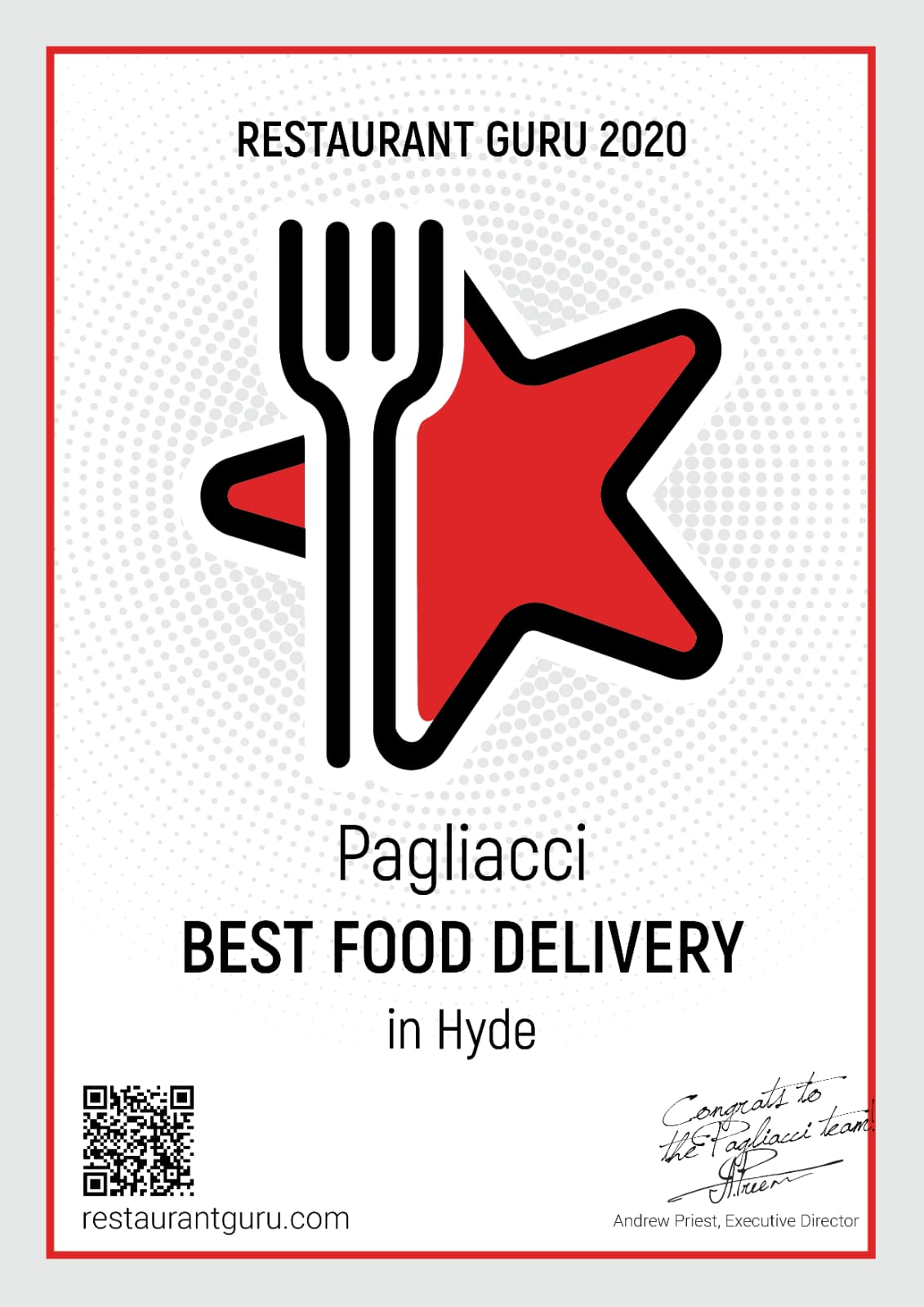Pagliacci Restaurant - Best Food Delivery in Hyde
